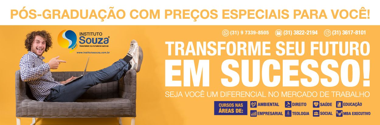 CURSO DE AS TIC'S APLICADAS AO ENSINO SUPERIOR 240 HORAS  - INSTITUTO SOUZA